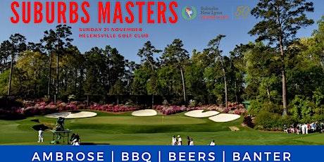 Suburbs Golf Masters tickets