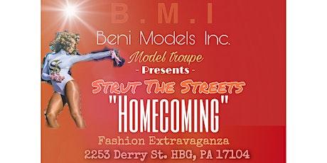 Beni Models Inc Present S.T.S Fashion Extravaganza  (Homecoming) tickets