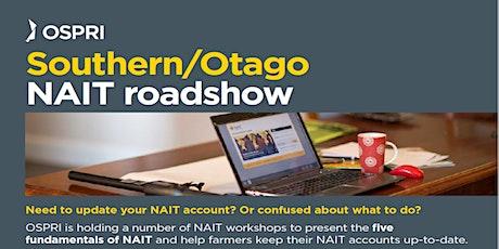 NAIT Road Show - Mosgiel tickets