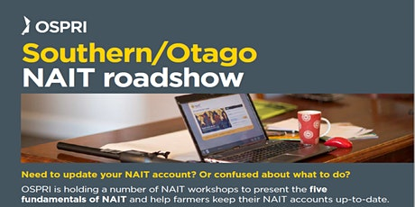 NAIT Road Show - Waimate tickets