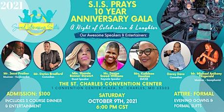 SIS Prays 10th Anniversary Gala tickets