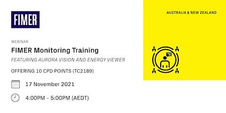 FIMER Monitoring Training [WEBINAR] - 10 CPD Points tickets
