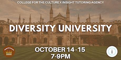 Diversity University Summit tickets