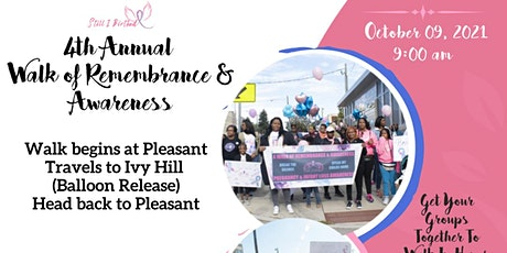 4th Annual Walk Of Remembrance & Awareness tickets