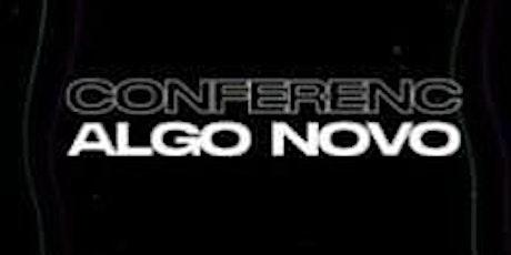 Conferência Algo Novo ingressos