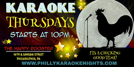 Thursday Karaoke at the Happy Rooster (Philadelphia, PA) tickets