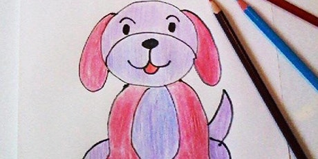 Drawing Classes for Ages 5 -10 tickets
