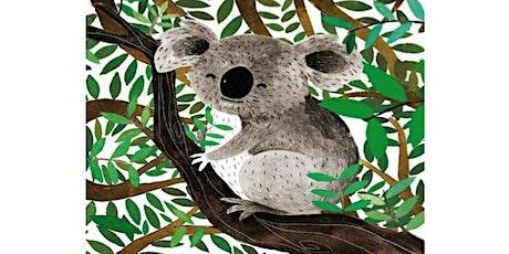 Learn to paint Koala. tickets
