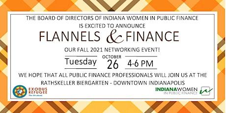 Indiana Women in Public Finance Fall Social 2021: Flannels & Finance tickets