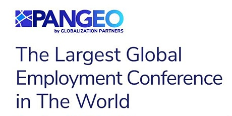 PANGEO The World's Largest Global Employment Conference tickets