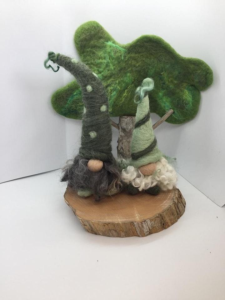 Needle Felting Gnomes Workshop image