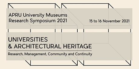 APRU University Museums Research Symposium 2021 tickets