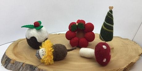 Needle Felted - Christmas Decorations Workshop tickets