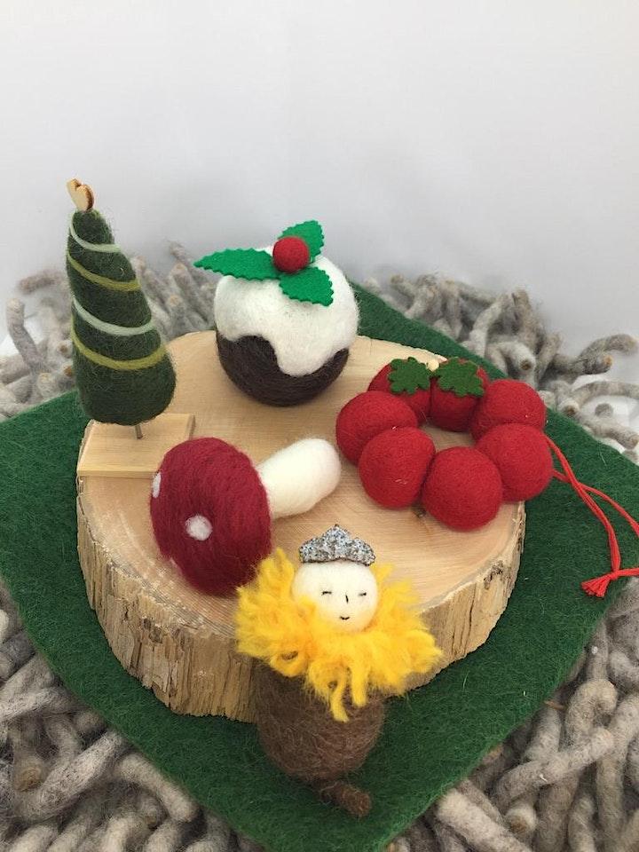 Needle Felted - Christmas Decorations Workshop image