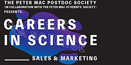 Careers in Science: Sales and Marketing tickets