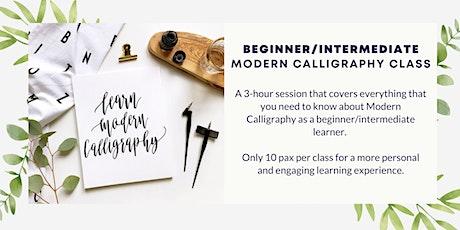 3-Hour Modern Calligraphy Class tickets