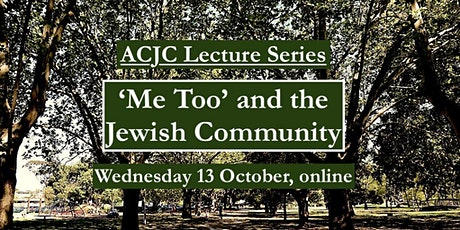 'Me Too' and the Jewish Community:  Gender in Jewish Community Institutions tickets