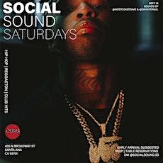 Social Sound Saturdays tickets