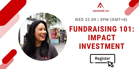 Fundraising 101: Impact Investment tickets