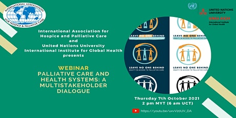 Palliative Care and Health Systems: A Multistakeholder Dialogue tickets