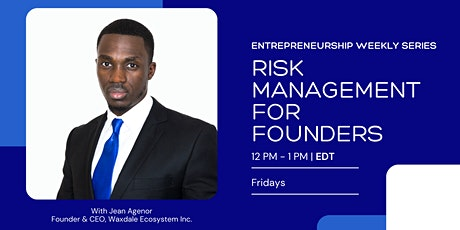 Risk Management for Founders tickets