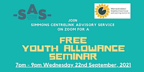 Free Centrelink Youth Allowance Seminar tickets