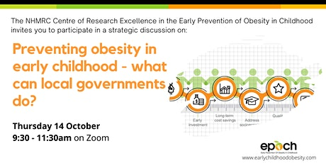 Preventing obesity in early life-what can Victorian local governments do? tickets