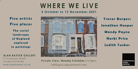 Where We Live Exhibition Private View tickets