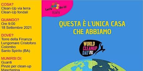WORLD CLEAN UP DAY WITH 2HANDS BARI biglietti