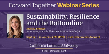 Forward Together Webinar: Sustainability, Resilience and the Bottomline tickets