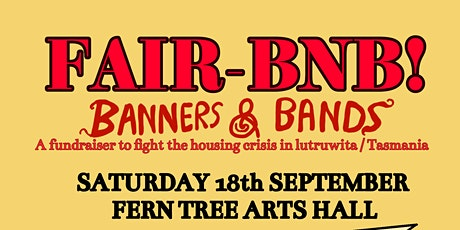 FairBnB: Banners & Bands tickets