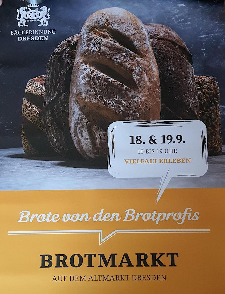 Wir sind dabei - Brotmarkt 2021 auf dem Altmarkt in Dresden: Bild