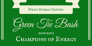 Green Tie Bash honoring Champions of Energy