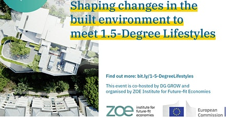 Shaping changes in the built environment to meet 1.5-Degree Lifestyles tickets