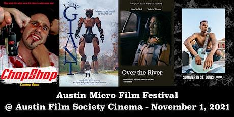 Austin Micro Film Festival Fall 2021 tickets