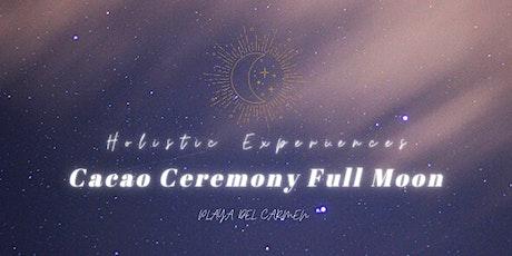 Cacao Ceremony Full Moon & Autum Equinox in Playa del Carmen boletos