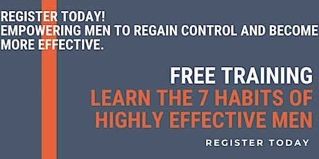 'Learn The 7 Habits Of Highly Effective Men' tickets