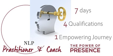 NLP PRACTITIONER & COACHING QUALIFICATIONS - LIVE ONLINE TRAINING deposit tickets