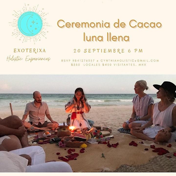Imagen de Cacao Ceremony Full Moon & Autum Equinox in Playa del Carmen