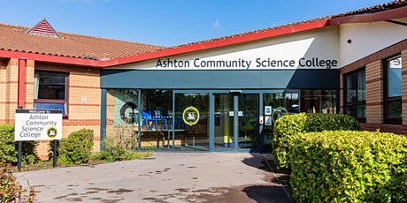 Ashton Community Science College Year  6 Open Evening tickets