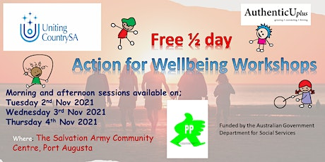 Action for Wellbeing 1/2 Day workshop tickets