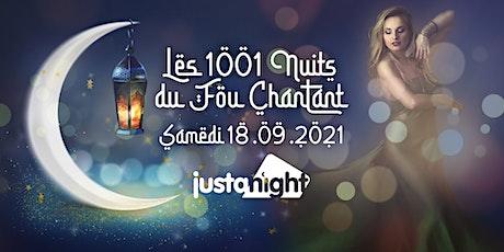 Les 1001 nuits du Fou Chantant / Samedi 18.09 billets