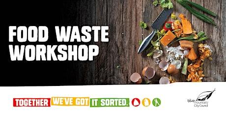Food Waste, Together We've Got It Sorted workshop on Zoom entradas