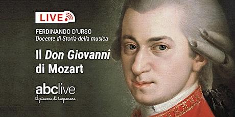 Ferdinando D'Urso - Il Don Giovanni di Mozart biglietti