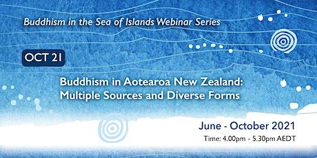 Buddhism in the Sea of Islands Webinar Series - October webinar tickets