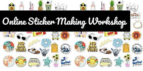 Online Creative Workshop – Sticker Making tickets