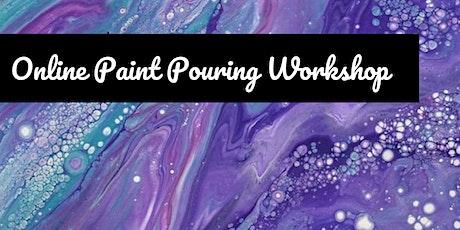 Online Creative Workshop – Paint Pouring tickets