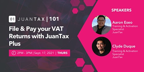 JuanTax 101: File and Pay your VAT Returns with PLUS tickets