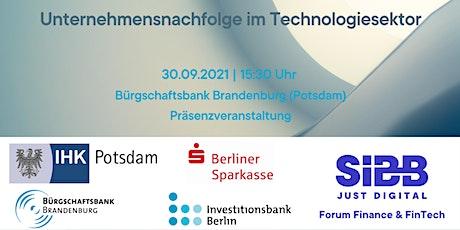 Unternehmensnachfolge im Technologiesektor Tickets