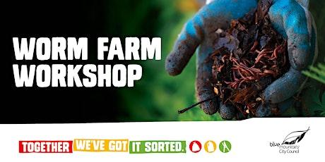 Worm Farming, Together We've Got It Sorted workshop tickets